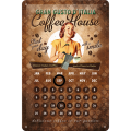 Coffee House lady -calender