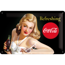 Coca Cola - Refreshing Lady