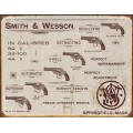 Smith & Wesson in calibres