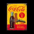 Coca Cola - In Bottles Yellow