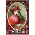 Coca Cola - Victorian Red Dress