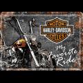 Harley-Davidson my favorite ride