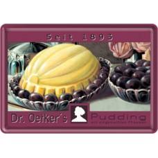 Dr. Oetker´s Pudding - og blommer